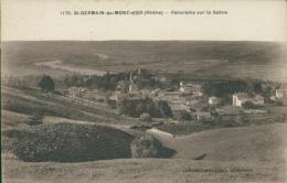 69 SAINT GERMAIN AU MONT D'OR / Panorama Sur La Saône / - France