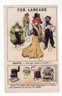 Chromo  FER LARCADE    Devinette - Trade Cards