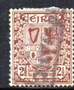 T1728 - IRLANDA 1922 , Cat. Unificato N . 44 Usato . - 1922-37 Stato Libero D'Irlanda