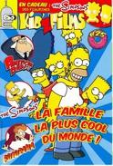 REVUE PRESSE JEUNESSE THE SIMPSONS LA FAMILLE LA PLUS CÉLÈBRE DU MONDE BANDE DESSINÉE  CADEAU POCHETTE FIGURINE - Autre Magazines
