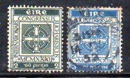 T1732 - IRLANDA 1932 , Cat. Unificato N . 60/61usato . - 1922-37 Stato Libero D'Irlanda