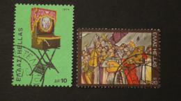 Greece - 1975 - Mi:1224,1226 - Yt:1202,1204 O - Look Scan - Usados