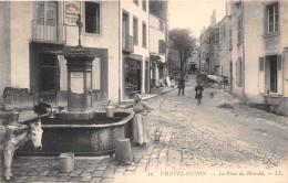 ¤¤  -    39   -     CHATEL-GUYON    -    La Place Du Marché   -  La Fontaine    -   ¤¤ - Châtel-Guyon