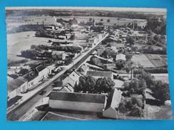 17 : ASNIERES La GIRAUD : VUE AERIENNE GENERALE ,C.P.S.M. Carte En Très Bon état , - Autres Communes