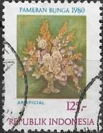 INDONESIA 1980 2nd Flower Festival, Jakarta - 125r Bouquet  FU