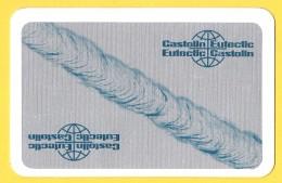 Dos De Carte : Castolin Eutectic - Cartes à Jouer Classiques