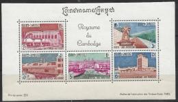 Bloc Cambodge ** Neuf - Cambodia
