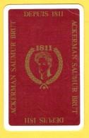 Dos De Carte : Ackerman Saumur Brut 1811 - Cartes à Jouer Classiques