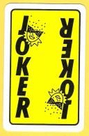 Dos De Carte : Joker, Loterie Nationale, Lotto, Carnaval ,masque - Cartes à Jouer Classiques