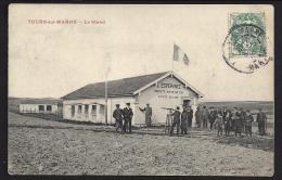CPA 51 Tours Sur Marne Le Stand De Tir - Autres Communes
