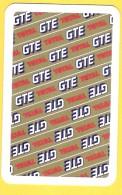 Dos De Carte : Total Gte , Essence, Carburant, Combustible - Cartes à Jouer Classiques