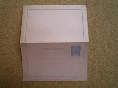 Entier Postal Carte-lettre Guyane 25 C Bleu Et Rouge Neuf