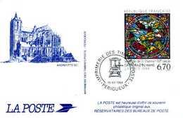 FRANCE -souvenir Philatélique De La Poste  :Cathédrale Du Mans - 16 XII 1994 - Sonstige
