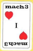 Dos De Carte : I Love Mach 3 (gillette, Rasoir) - Cartes à Jouer Classiques