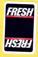Dos De Carte : Fresh (chewing Gum) - Cartes à Jouer Classiques