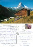 Matterhorn, VS Valais, Switzerland Postcard Posted 2001 Stamp - VS Valais