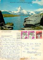 Matterhorn, VS Valais, Switzerland Postcard Posted 1975 Stamp - VS Valais