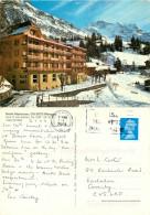 Hotel Alpenrose, Wengen, BE Bern, Switzerland Postcard Posted 2003 Stamp - BE Berne