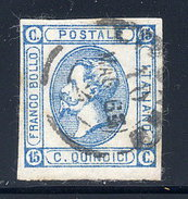 Italy  Sc# 23a  Used   1863 - Used