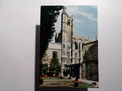 FRANCE AUDE NARBONNE CATHEDRALE & LES JARDINS CATHEDRAL & GARDENS 1960 YEARS POSTCARD - Narbonne