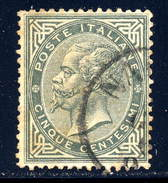 Italy  Sc# 26  Used   1863 - 1861-78 Vittorio Emanuele II
