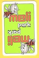 Dos De Carte : Meli - Parc D'attraction, Abeille, Miel, Ruche - Cartes à Jouer Classiques