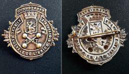Insigne  Métal 1927- DRAGUIGNAN XIe FETE UNION FEDERALE GYMNASTIQUE Et TRAMPOLINE SUD EST - Gymnastique