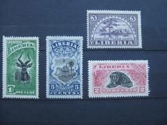 Timbres Libéria : Officiel 1918 * - Liberia