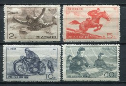 Corea Del Norte 1966. Yvert 718-21 ** MNH. - Korea, North