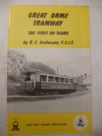 PAYS De GALLES (GB) GREAT ORME TRAMWAY : Tramway à Cable Traction Funiculaire - Détails Sur Scans - Bahnwesen & Tramways