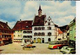 STAUFEN IM BREISGAU MARKTPLATZ BEL AUTOCAR - Freiburg I. Br.
