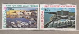 EUROPA 1977 Cyprus Turkey Mi 41-42, Yv 32-33, Sc 41-42 MNH (**) # 20702 - Europa-CEPT
