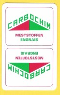 Dos De Carte : Carbochim Engrais Meststoffen - Cartes à Jouer Classiques