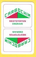 Dos De Carte : Carbochim Engrais Meststoffen - Speelkaarten