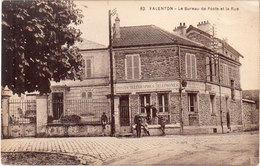 VALENTON - Le Bureau De Poste Et La Rue  (92834) - Valenton