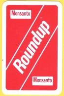 Dos De Carte : Monsanto Roundup , Herbicide, Chimie - Cartes à Jouer Classiques