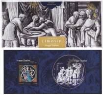 France - Feuillet Bloc Souvenir N° 108 ** Léonard LIMOUSIN (4928 + 4829) - Souvenir Blokken