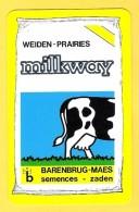 Dos De Carte : Milkway Weiden Prairies , Barenburg Maes Semences Zaden - Cartes à Jouer Classiques