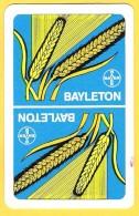 Dos De Carte : Bayleton Bayer Chimie Fongicide Maïs - Cartes à Jouer Classiques