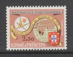 TIMBRE NEUF DE ST-THOMAS ET PRINCE - EXPOSITION DE BRUXELLES N° Y&T 373