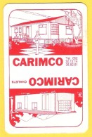 Dos De Carte : Carimco Chalets Dendermonde Termonde - Cartes à Jouer Classiques