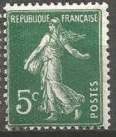 France - F1/218 - Type Semeuse Lignée - N°137 ** - 1903-60 Semeuse Lignée