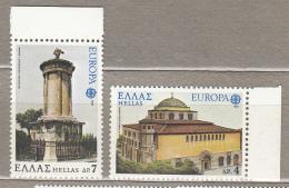 EUROPA 1978 Greece Architecture Mi 1314-1315, Yv 1286-1287, Sc 1255-1256 MNH (**) # 20711 - Europa-CEPT