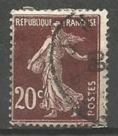 France - F1/222 - Type Semeuse Camée - N°139 Obl. - 1906-38 Sower - Cameo