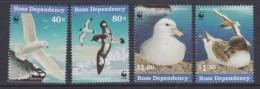 Ross Dependency 1997 Sea Birds WWF 4v  ** Mnh (33889) - Ross Dependency (Nieuw-Zeeland)