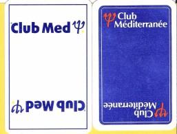 2 Dos De Carte : Club Med Méditerranée - Cartes à Jouer Classiques