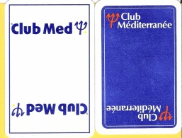 2 Dos De Carte : Club Med Méditerranée - Speelkaarten