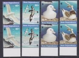 Ross Dependency 1997 Sea Birds WWF 4v  (pair)  ** Mnh (33889B) - Ross Dependency (Nieuw-Zeeland)