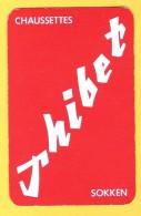 Dos De Carte : Chaussettes Sokken Soks Thibet - Textile Textiel - Cartes à Jouer Classiques