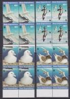 Ross Dependency 1997 Sea Birds WWF 4v  Bl Of 4 ** Mnh (33889D) - Ongebruikt